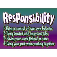 Argus Poster: Responsibility; no. T-A63113