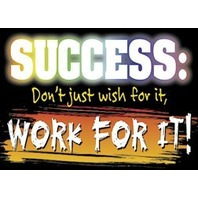 Argus Poster: Success - Don't Just Wish For It