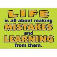 Argus Poster: Life Is All About Making Mistakes
