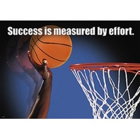 Argus Poster: Success Is Measured By Effort