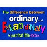 The difference between ordinary...