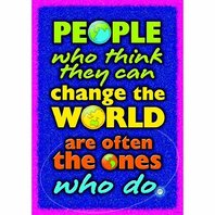 People who think they can...