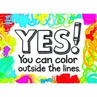 Yes! You can color outside...