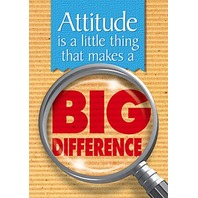 Argus Poster: Attitude Is A Little Thing