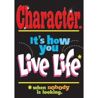 Argus Poster: Character - It's How You Live Your Life