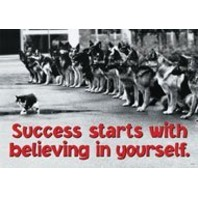Success starts with...