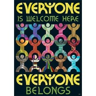 Argus Poster: Everyone Is Welcome Here