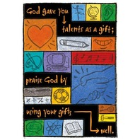 Argus Poster: God Gave You Talents As A Gift