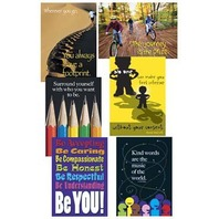 Argus Combo Pack: Think Positively; 6 Poster Set; no. T-A67909