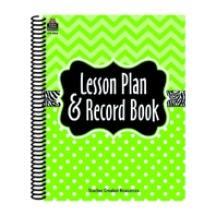 LIME CHEVRONS AND DOTS LESSON PLAN
