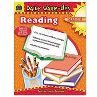 Teacher Created Resources 3489 Daily Warm-Ups Book, Reading, Grade 3