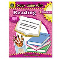 Teacher Created Resources 3491 Daily Warm-Ups Book, Reading, Grade 5