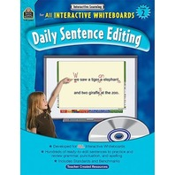 Interactive Learning: Daily Sentence Editing, Grade 2