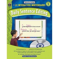 Interactive Learning: Daily Sentence Editing, Grade 3