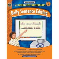 Interactive Learning: Daily Sentence Editing, Grade 4