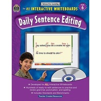 Interactive Learning: Daily Sentence Editing, Grade 6