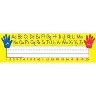 Teacher Created Resources Left/Right Alphabet Name Plates, Flat (4019)