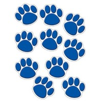Teacher Created Resources Accents, Blue Paw Print (4275)