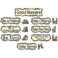 Teacher Created Resources SW Good Manners Mini Bulletin Board (4297)
