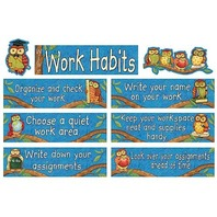 Teacher Created Resources SW Wise Work Habits Mini Bulletin Board (4298)