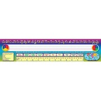 Teacher Created Resources Cursive Writing Name Plates, Jumbo (4302)