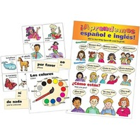 Teacher Created Resources Spanish Bulletin Board Display Set (4400)