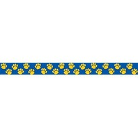 Teacher Created Resources Blue with Gold Paw Prints Border Trim (4643)
