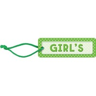 Teacher Created Resources Polka Dots Girls Pass (green), Green (4754)
