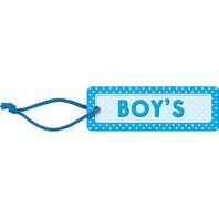 Teacher Created Resources Polka Dots Boys Pass (blue), Blue (4755)