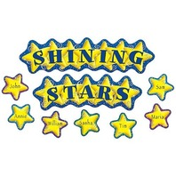 Teacher Created Resources Shining Stars Mini Bulletin Board (4780)