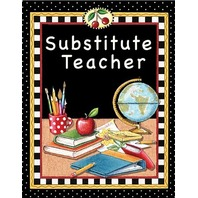 Teacher Created Resources Substitute Teacher Pocket Folder from Mary Engelbreit (4834)