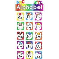 Teacher Created Resources Alphabet Mini Bulletin Board, Multi Color (4865)