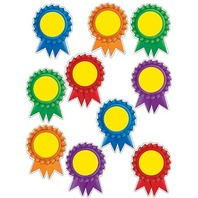 Teacher Created Resources Ribbon Awards Accents, Multi Color (5114)