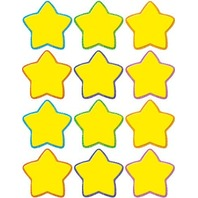 Teacher Created Resources Stars Mini Accents, Yellow (5130)