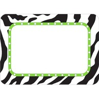 Teacher Created Resources Zebra Name Tags (5173)