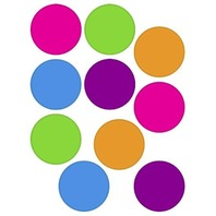 Teacher Created Resources Bright Colors Circles Accents (5189)