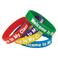 WELCOME TO MY CLASS WRISTBANDS