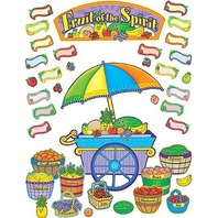 Teacher Created Resources Fruit of the Spirit Bulletin Board Display Set (7038)