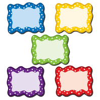 POLKA DOTS BLANK CARDS MAGNETIC