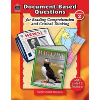 Grade 2 Document-Based Questions: Reading Comprehension & Critical Thinking; no. TCR8372