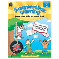Teacher Created Resources Summertime Learning, Reading/Writing/Math, Grade 2 (8842)