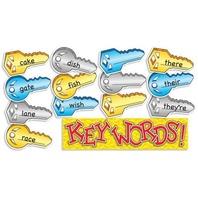Scholastic Teacher's Friend Key Words! Mini Bulletin Board (TF8063)