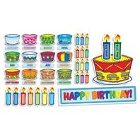 Scholastic Birthday Cakes Mini Bulletin Board (TF8072)