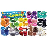 Scholastic Teacher's Friend Colors in Photos Mini Bulletin Board, Multiple Colors (TF8090)