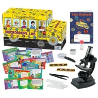 The Magic School Bus - Microscope Lab