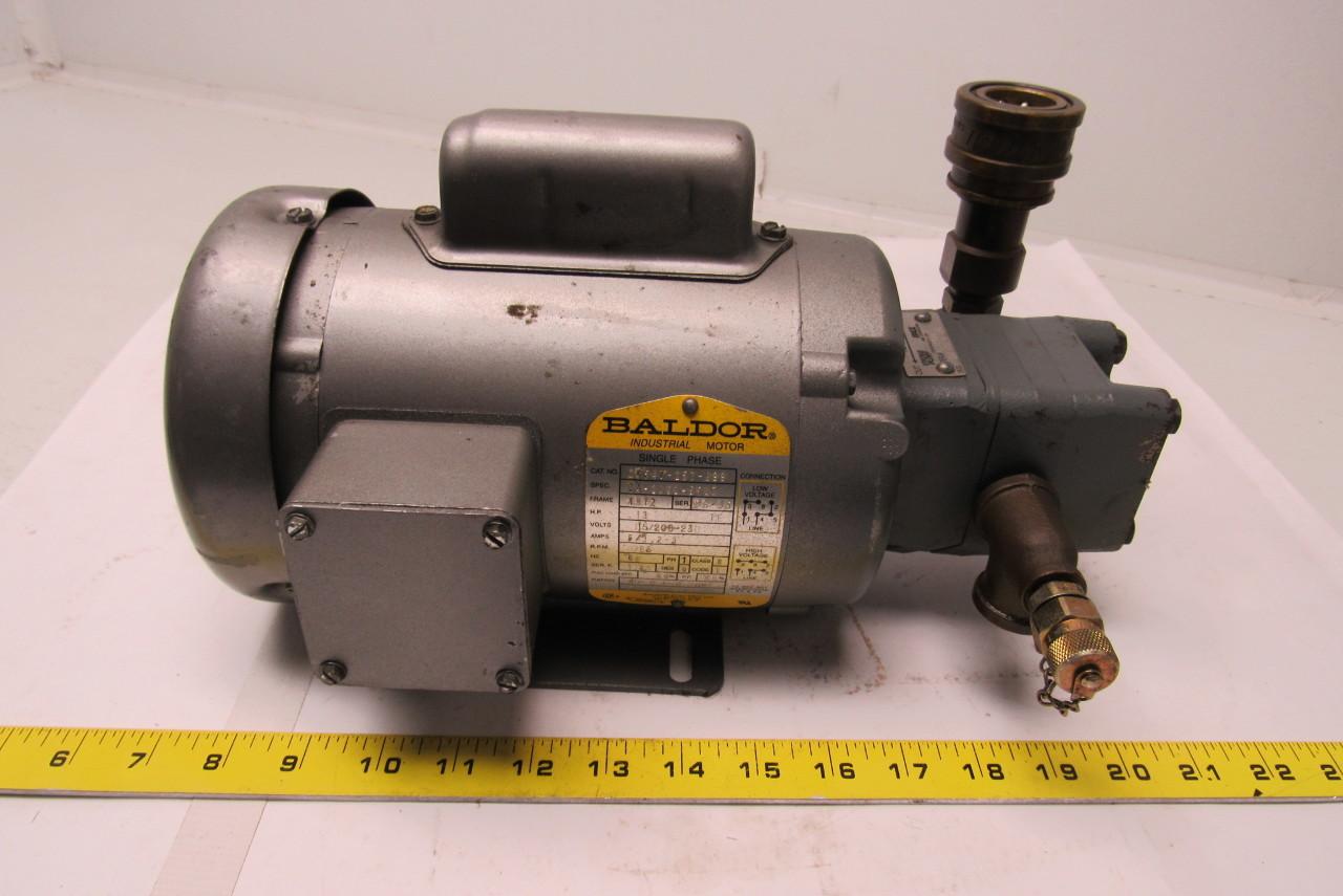Viking Pump Sg 0518 Gov Spur Gear Pump W Baldor 33hp 115