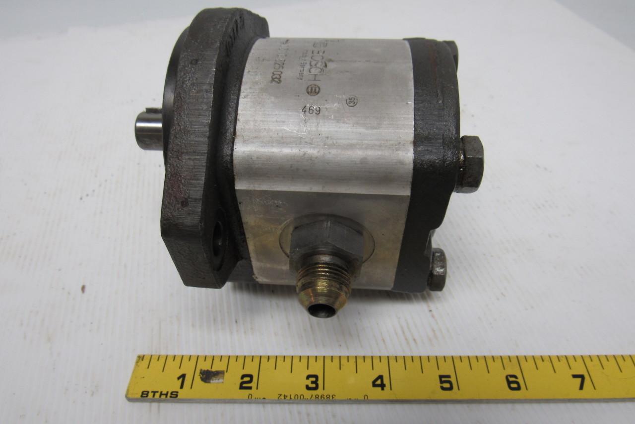 Bosch Rexroth 0510525032 Hydraulic External Gear Pump 5/8