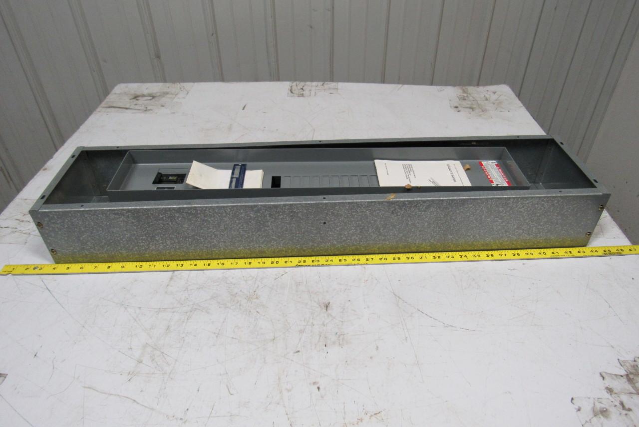 square d breaker box wiring diagram square d lx840b nqob8402031m panelboard box 100a breaker ... #7