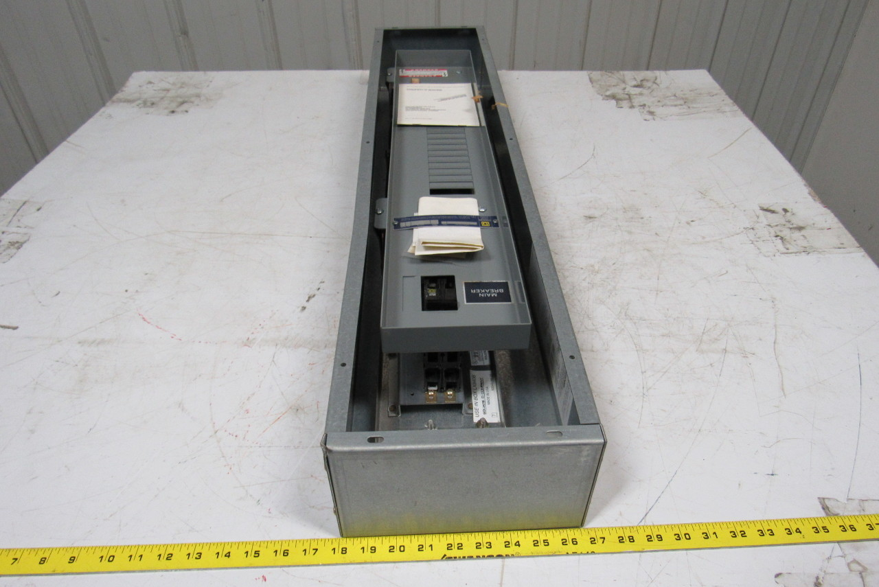 square d lx840b nqob8402031m panelboard box 100a breaker ... old square d fuse box square d fuse box doors #2