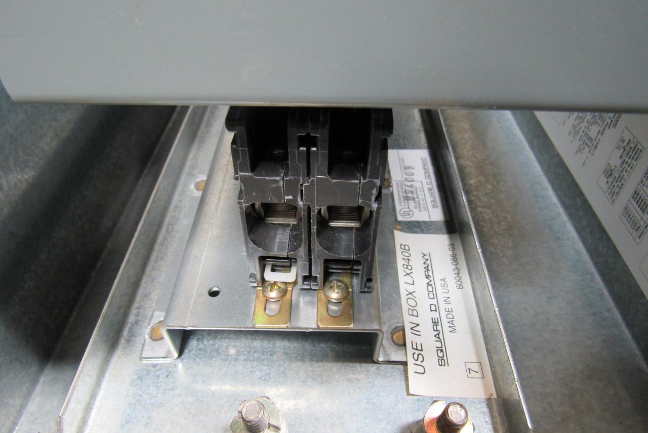 square d fuse box doors square d lx840b nqob8402031m panelboard box 100a breaker ...